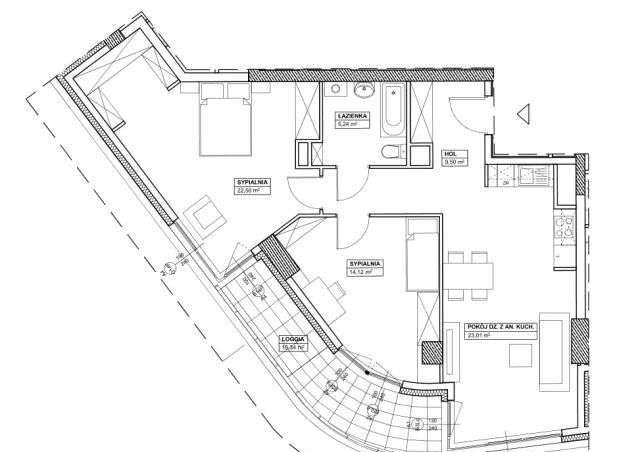 Mieszkanie trzypokojowe na sprzedaż Warszawa, Wola, warszawa  75m2 Foto 2
