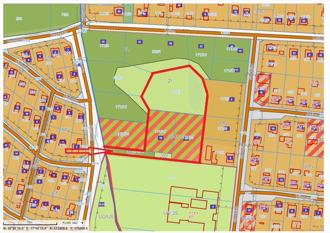 Działka komercyjna na sprzedaż Jerzykowo, Sosnowa  11700m2 Foto 1