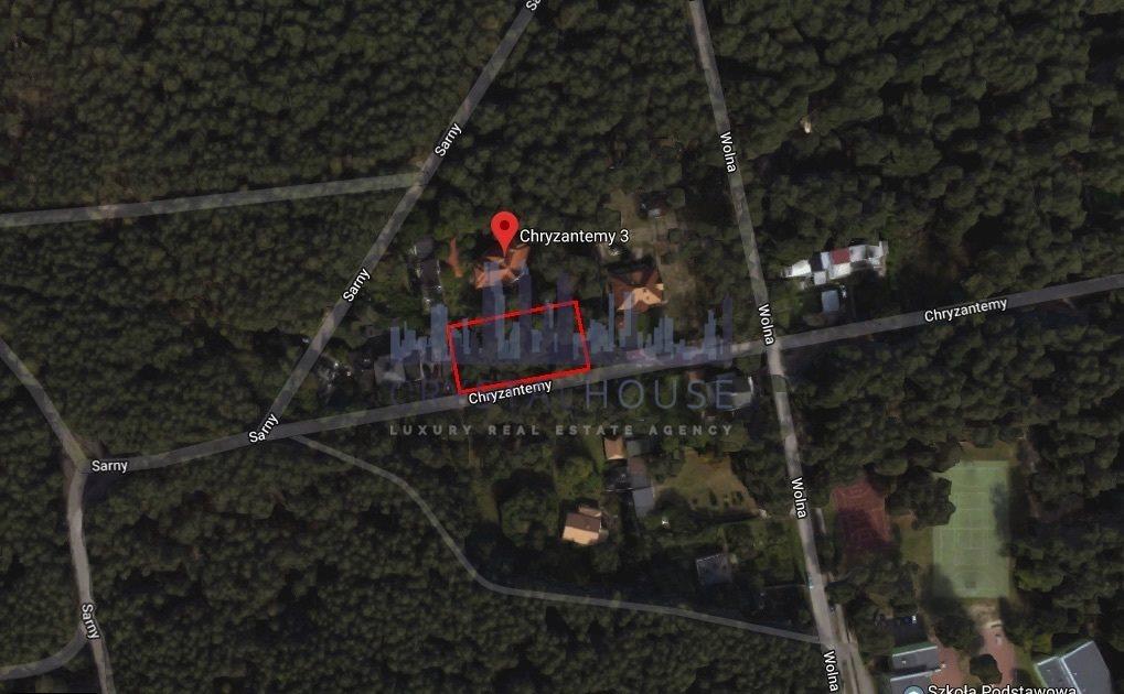 Działka budowlana na sprzedaż Warszawa, Wawer, Miedzeszyn, Chryzantemy  1174m2 Foto 1