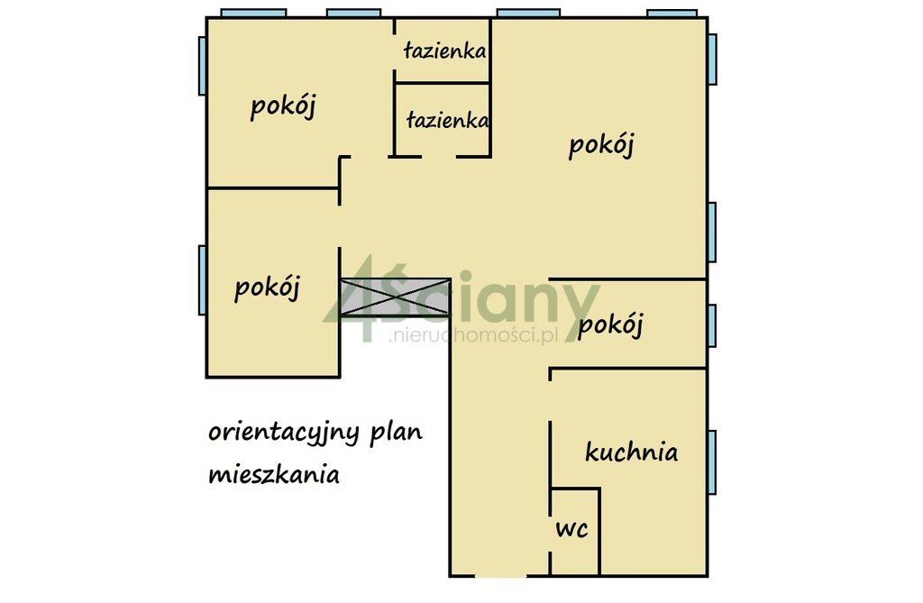 Mieszkanie trzypokojowe na sprzedaż Warszawa, Mokotów, al. Wilanowska  118m2 Foto 5
