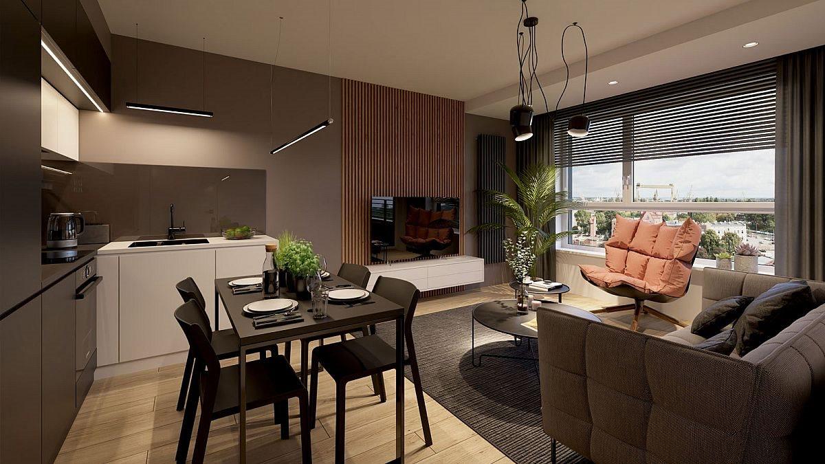 Mieszkanie dwupokojowe na sprzedaż Szczecin, Centrum  40m2 Foto 6