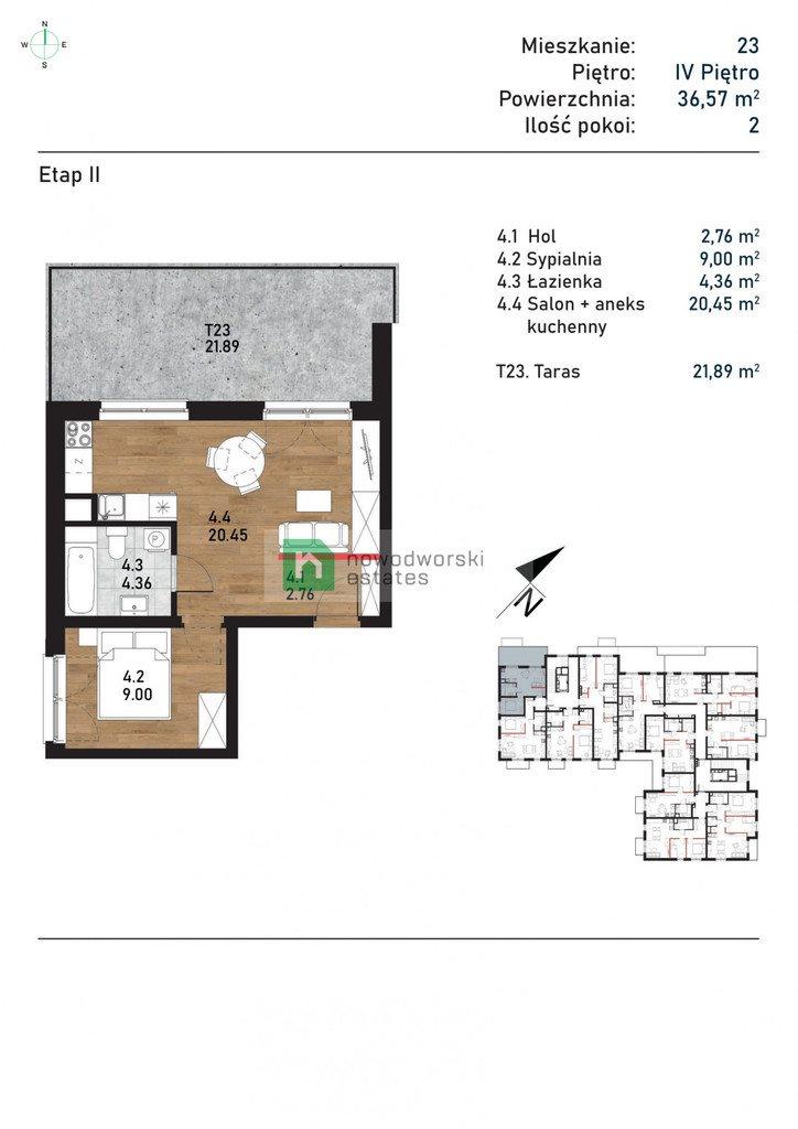 Mieszkanie dwupokojowe na sprzedaż Kraków, Podgórze, Wielicka  37m2 Foto 5