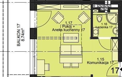 Mieszkanie dwupokojowe na sprzedaż Opole  50m2 Foto 4