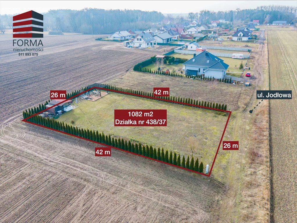 Działka inna na sprzedaż Grzebienisko, Jodłowa  1082m2 Foto 1