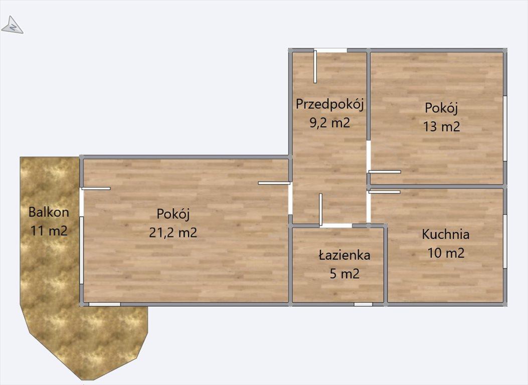 Mieszkanie dwupokojowe na sprzedaż Warszawa, Praga-Południe, Gocław, Kardynała Aleksandra Kakowskiego  61m2 Foto 2