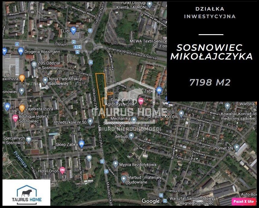 Działka budowlana na sprzedaż Sosnowiec, Ludwik  7198m2 Foto 1