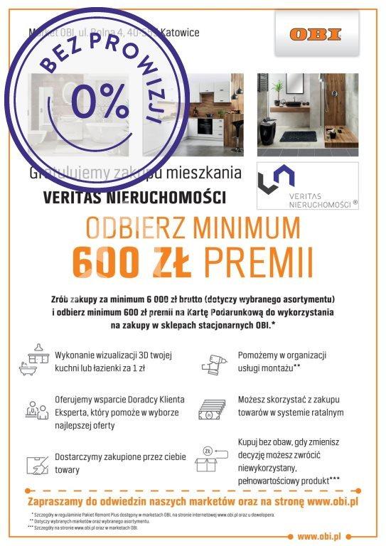 Mieszkanie dwupokojowe na sprzedaż Mikołów, Reta Śmiłowicka, Storczyków  38m2 Foto 3