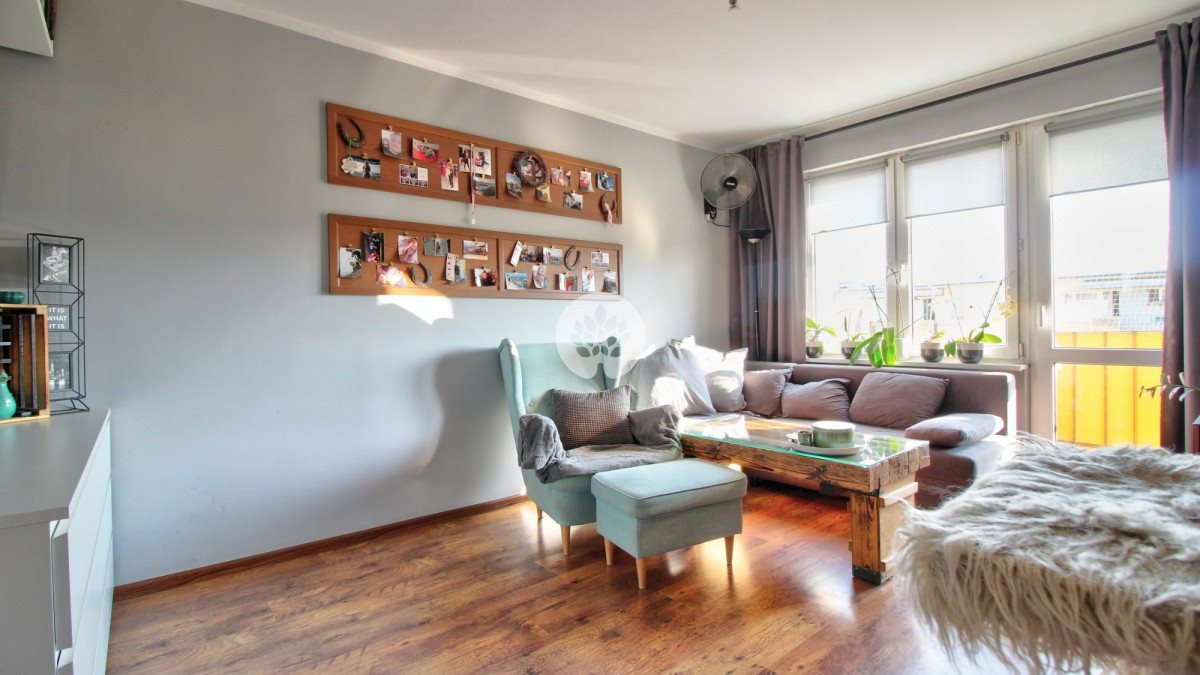 Mieszkanie dwupokojowe na sprzedaż Bydgoszcz, Błonie, Romana Dmowskiego  35m2 Foto 2