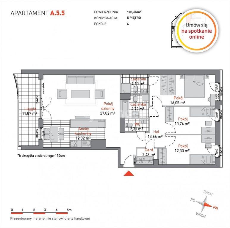 Mieszkanie czteropokojowe  na sprzedaż Gdańsk, Przymorze, Czarny Dwór  106m2 Foto 6