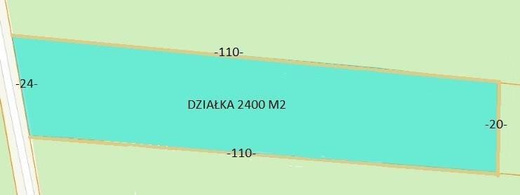 Działka budowlana na sprzedaż Warszawa, Białołęka, Mańki-Wojdy, Olesin  2481m2 Foto 1