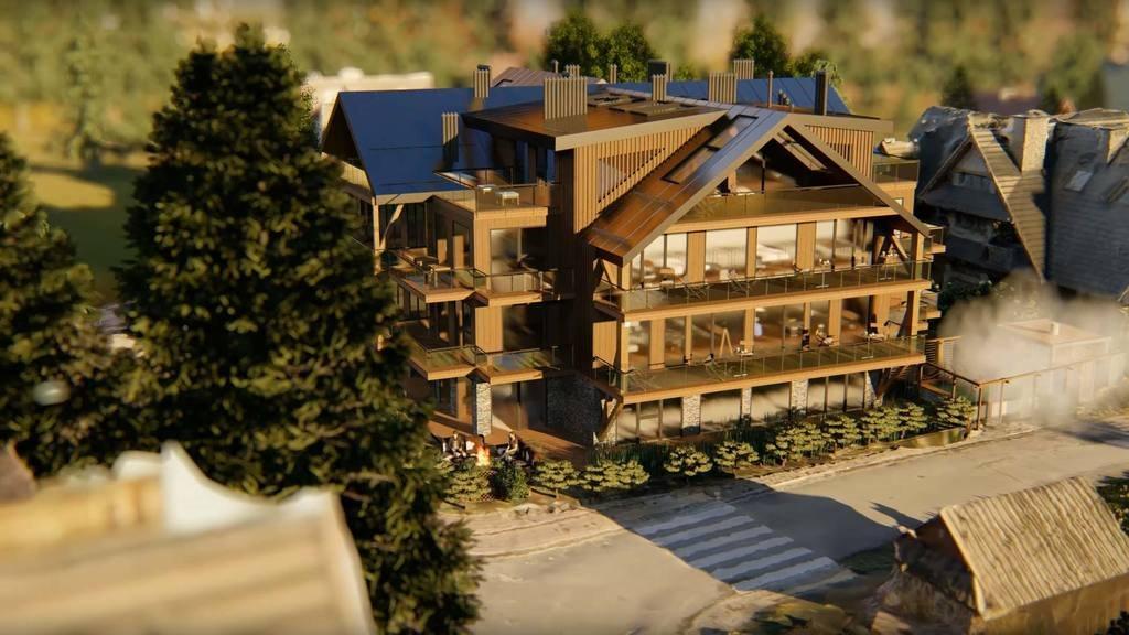 Mieszkanie dwupokojowe na sprzedaż Zakopane  45m2 Foto 11