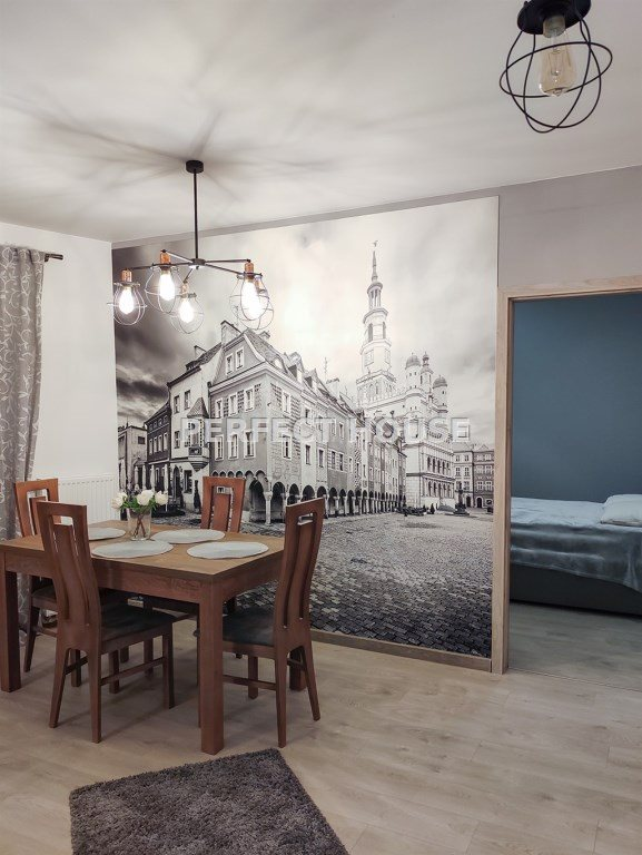 Mieszkanie dwupokojowe na wynajem Poznań, Wilda  53m2 Foto 4