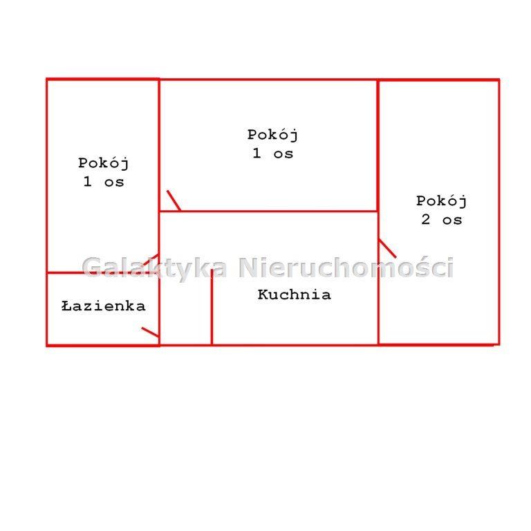 Mieszkanie trzypokojowe na sprzedaż Kraków, Czyżyny  50m2 Foto 11