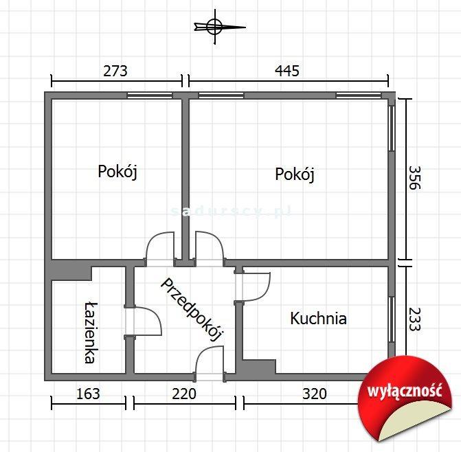 Mieszkanie dwupokojowe na sprzedaż Kraków, Czyżyny, Czyżyny, Sołtysowska  44m2 Foto 3