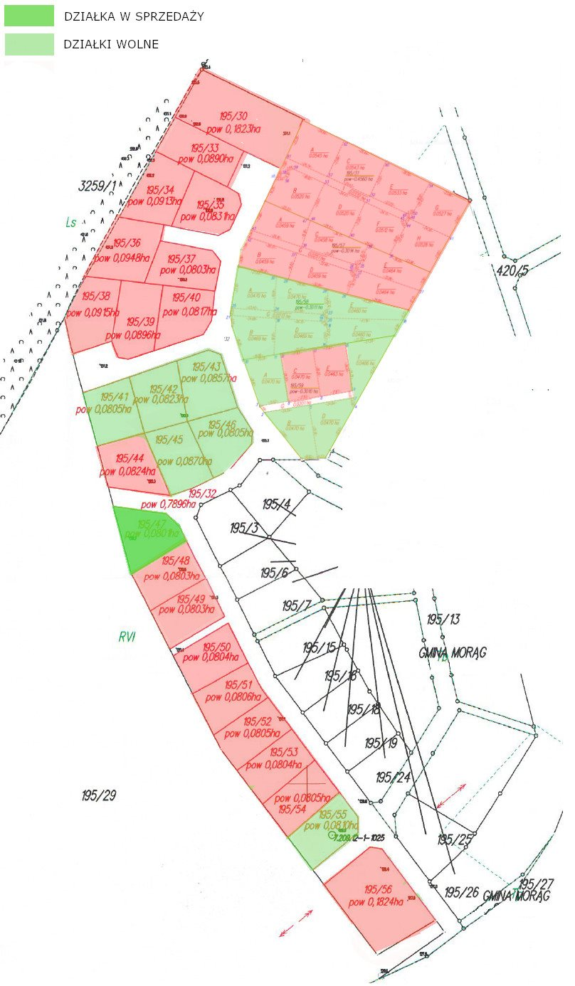 Działka budowlana na sprzedaż Morąg, Działka w atrakcyjnym sąsiedztwie jeziora  801m2 Foto 2