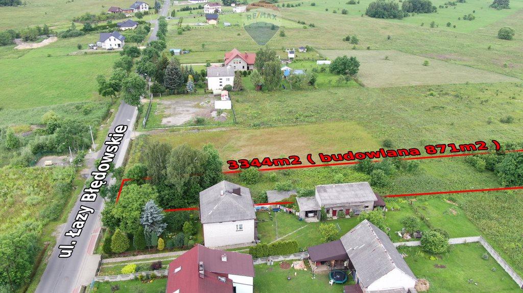 Działka budowlana na sprzedaż Dąbrowa Górnicza, Łazy Błędowskie  3344m2 Foto 7