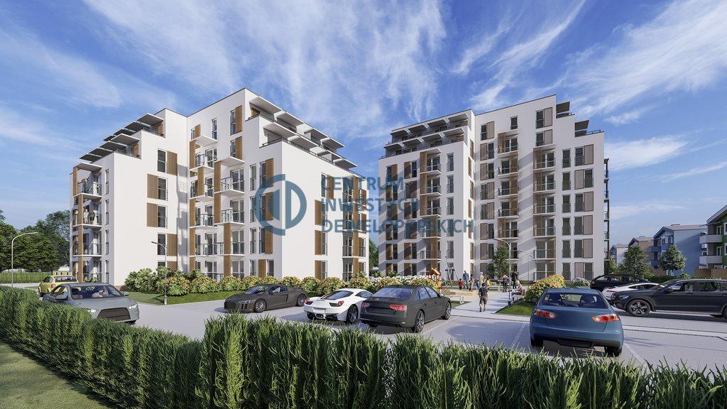 Mieszkanie trzypokojowe na sprzedaż Rzeszów, Zalesie, Henryka Wieniawskiego  43m2 Foto 1
