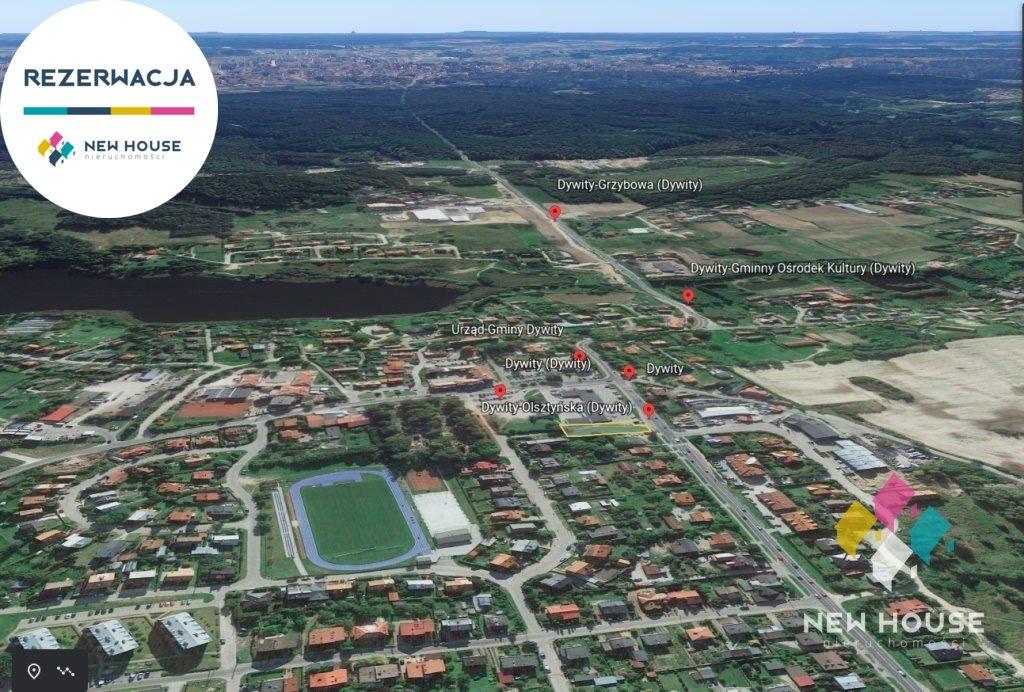 Działka komercyjna na sprzedaż Dywity, Olsztyńska  1127m2 Foto 1