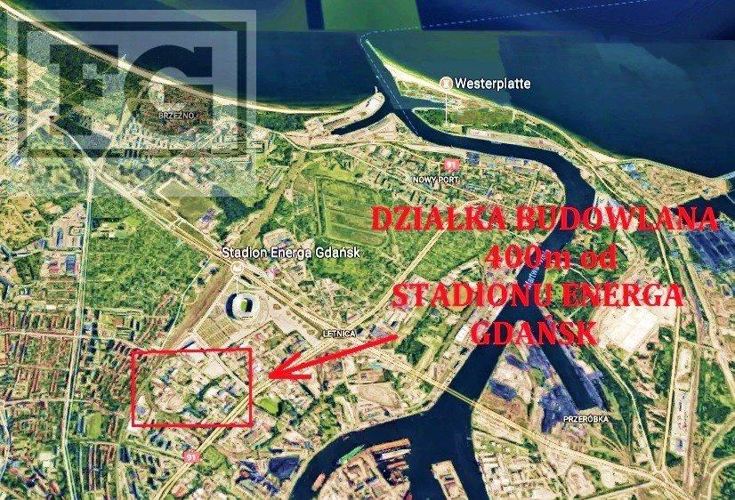 Działka przemysłowo-handlowa na sprzedaż Gdańsk, Letnica  5320m2 Foto 2