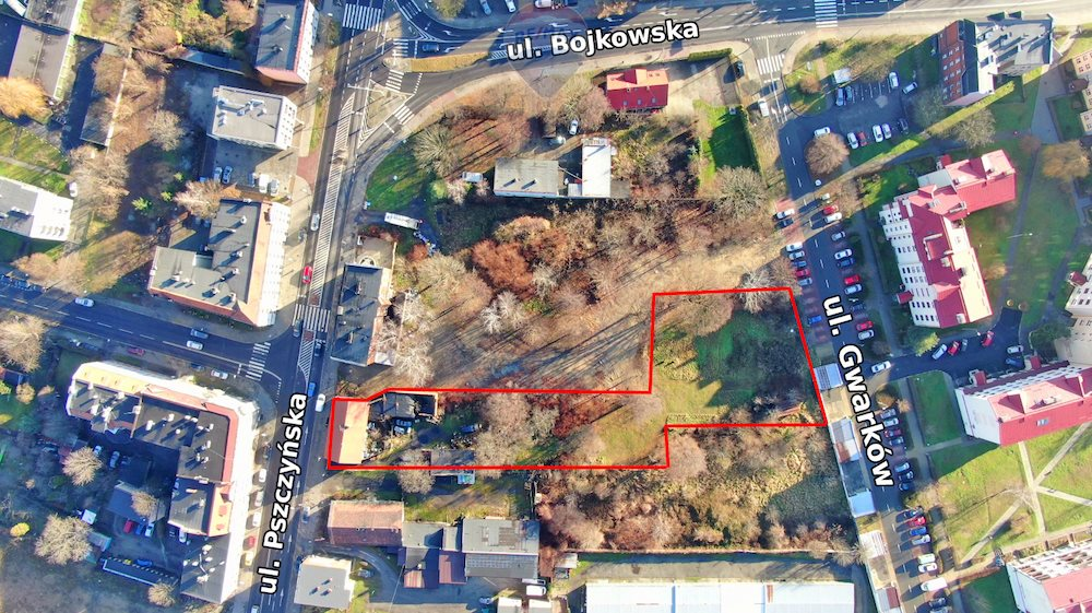 Działka inwestycyjna na sprzedaż Gliwice, Centrum, Pszczyńska  3382m2 Foto 12