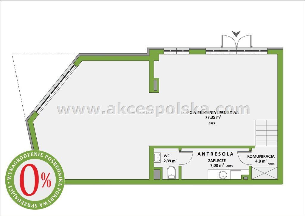 Lokal użytkowy na sprzedaż Pruszków, Bąki, Korczaka  92m2 Foto 2