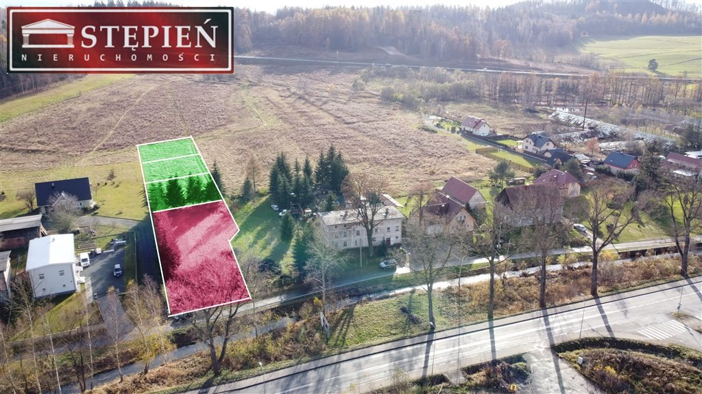 Działka budowlana na sprzedaż Jelenia Góra, Maciejowa  1236m2 Foto 3