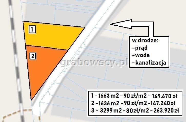 Działka budowlana na sprzedaż Hryniewicze  3299m2 Foto 7