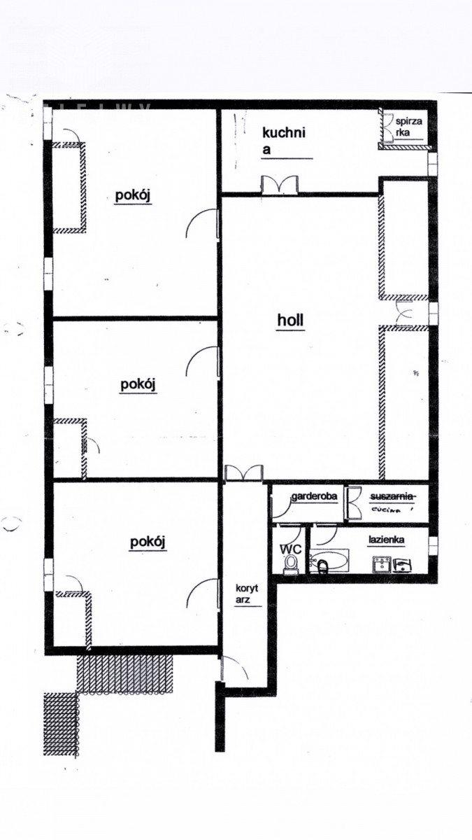 Mieszkanie czteropokojowe  na sprzedaż Warszawa, Śródmieście, Plac Trzech Krzyży  114m2 Foto 2