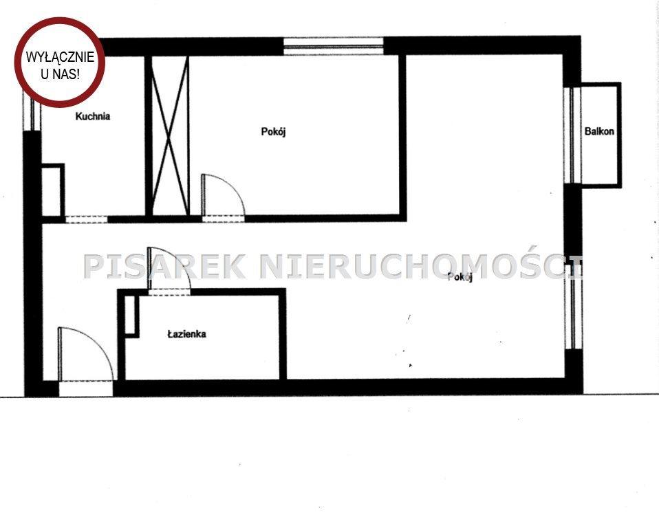 Mieszkanie dwupokojowe na sprzedaż Warszawa, Mokotów, Sielce  47m2 Foto 8