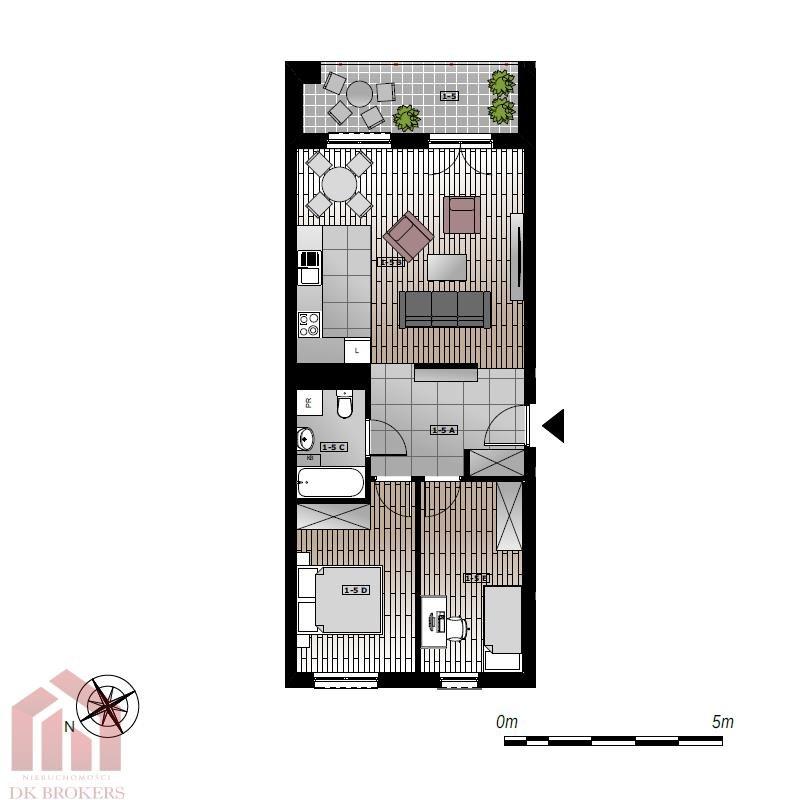 Mieszkanie trzypokojowe na sprzedaż Rzeszów, Przybyszówka, Błogosławionej Karoliny  59m2 Foto 2