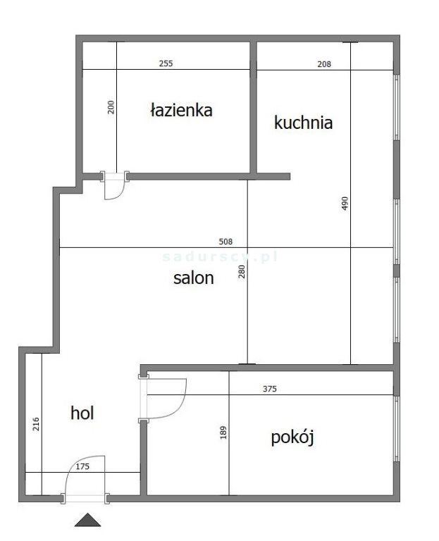 Mieszkanie dwupokojowe na sprzedaż Kraków, Krowodrza, Łobzów, Galla  34m2 Foto 11