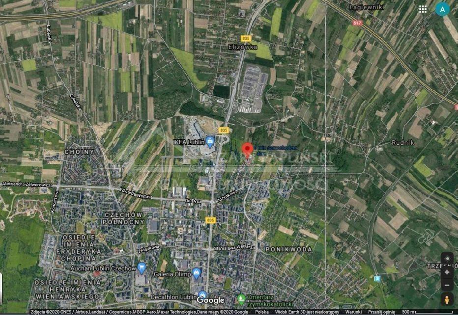 Działka budowlana na sprzedaż Lublin, Wiktoryn, Wiktoryn, Rudnik  1203m2 Foto 6