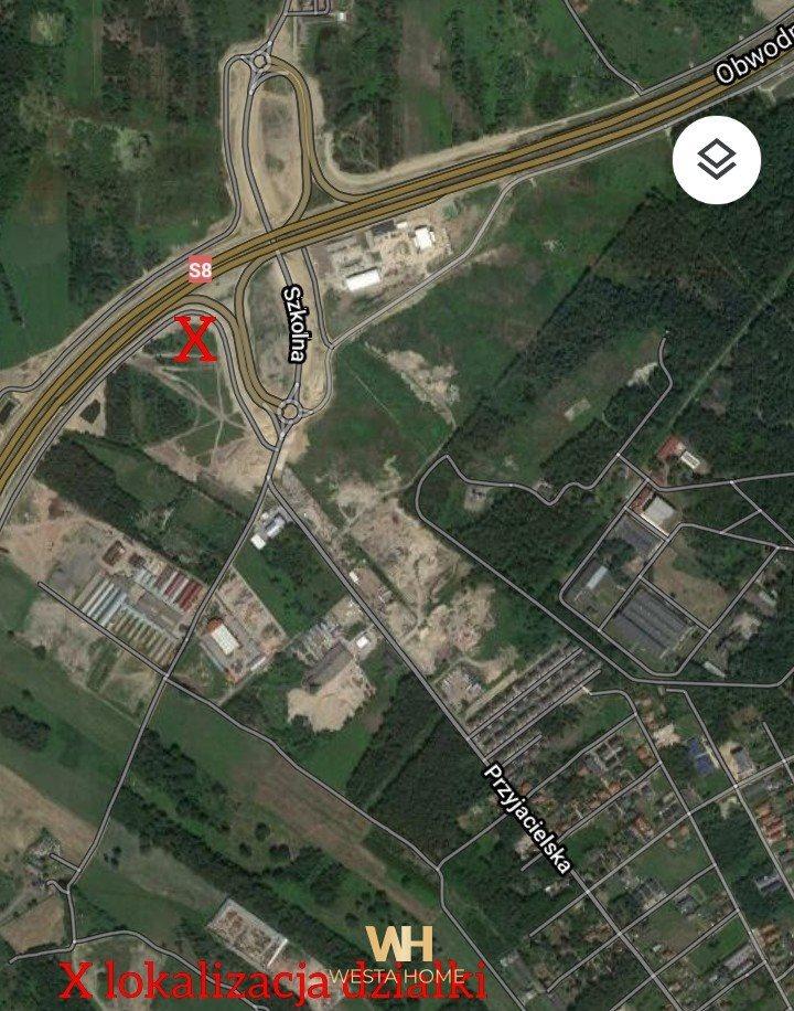 Działka przemysłowo-handlowa pod dzierżawę Kobyłka, Przyjacielska  10458m2 Foto 7