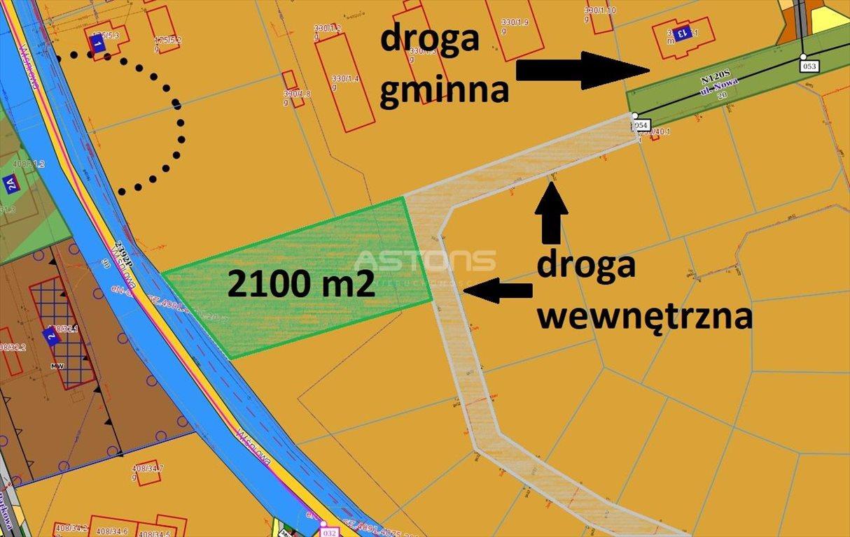 Działka budowlana na sprzedaż Jankowice, Wiśniowa  2100m2 Foto 6