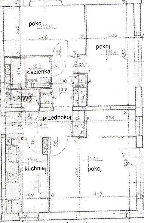 Mieszkanie trzypokojowe na sprzedaż Warszawa, Praga-Południe, Saska Kępa, Egipska  57m2 Foto 12