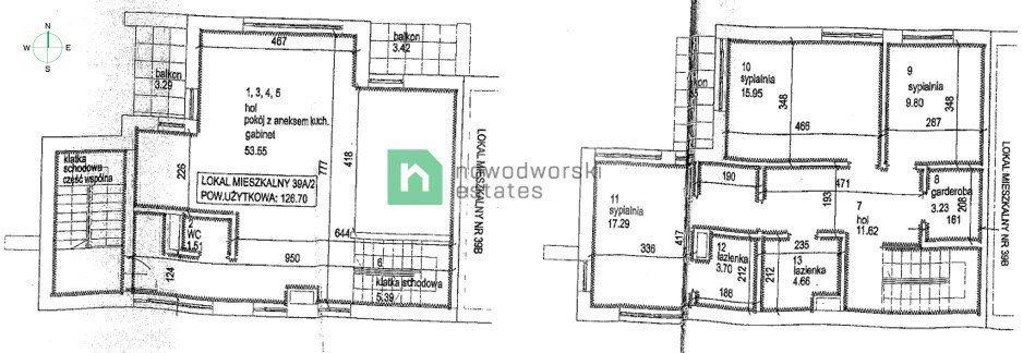 Mieszkanie na sprzedaż Kraków, Zwierzyniec, Zwierzyniec, Podłącze  127m2 Foto 13