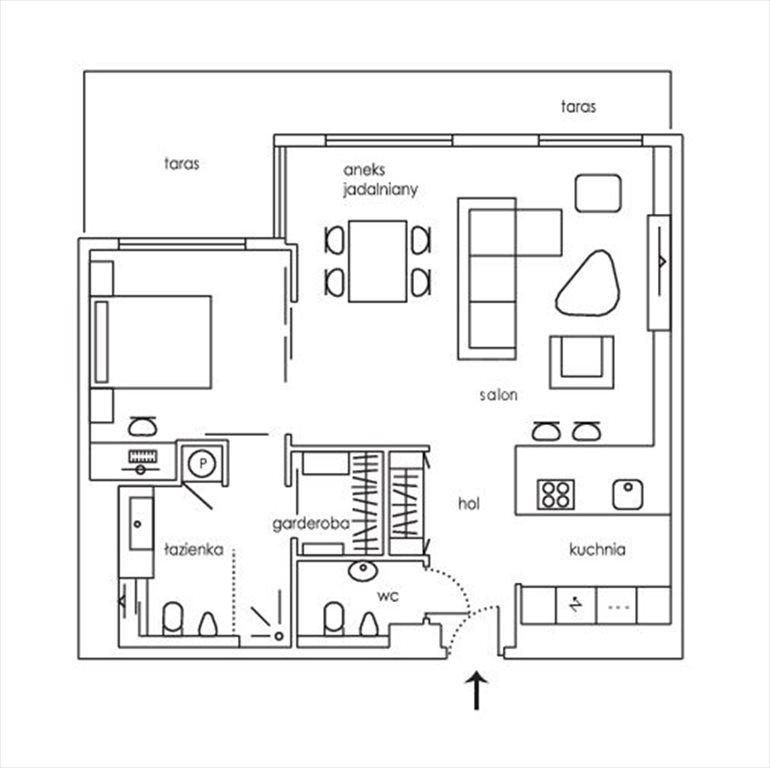 Mieszkanie dwupokojowe na wynajem Warszawa, Śródmieście, ul. Wybrzeże Kościuszkowskie  75m2 Foto 2
