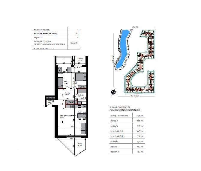 Mieszkanie trzypokojowe na sprzedaż Bydgoszcz, Szwederowo, Piękna  69m2 Foto 12