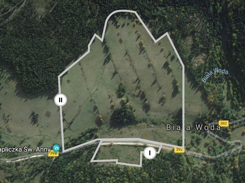Działka inwestycyjna na sprzedaż Biała Woda  340000m2 Foto 1