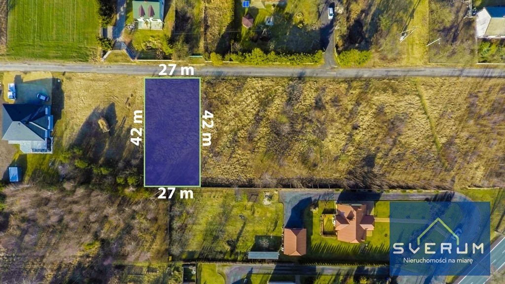 Działka budowlana na sprzedaż Chorzenice, Leśna  1138m2 Foto 2