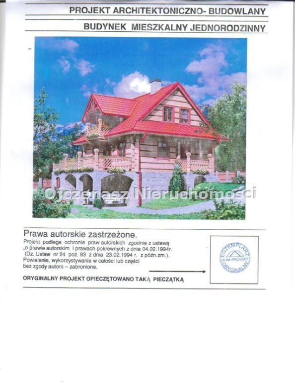 Działka budowlana na sprzedaż Tuchola  1052m2 Foto 1