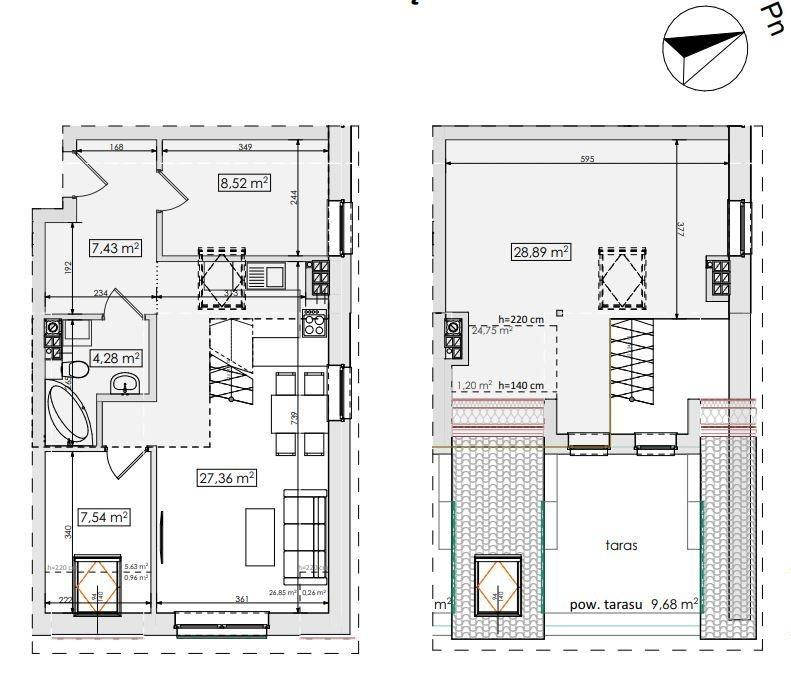 Mieszkanie czteropokojowe  na sprzedaż Skarbimierzyce  84m2 Foto 1