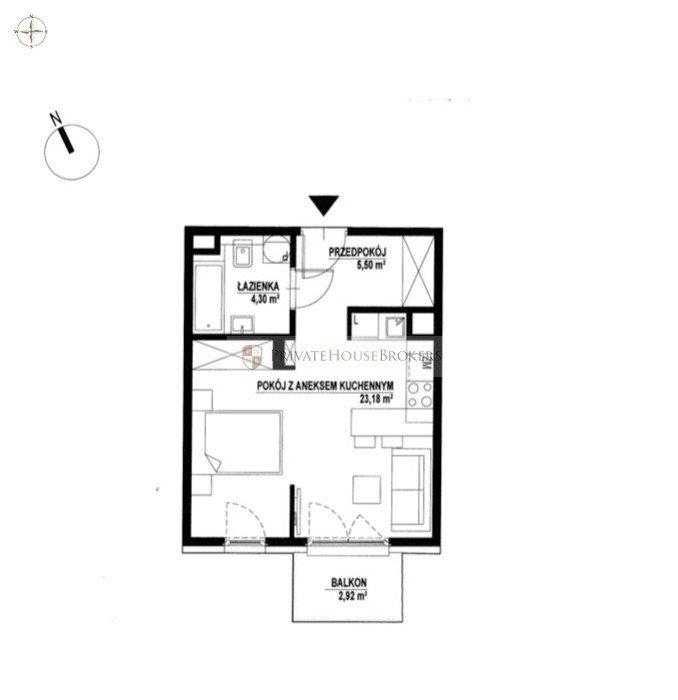 Mieszkanie dwupokojowe na sprzedaż Kraków, Rakowice, Rakowice, Rakowicka  33m2 Foto 11