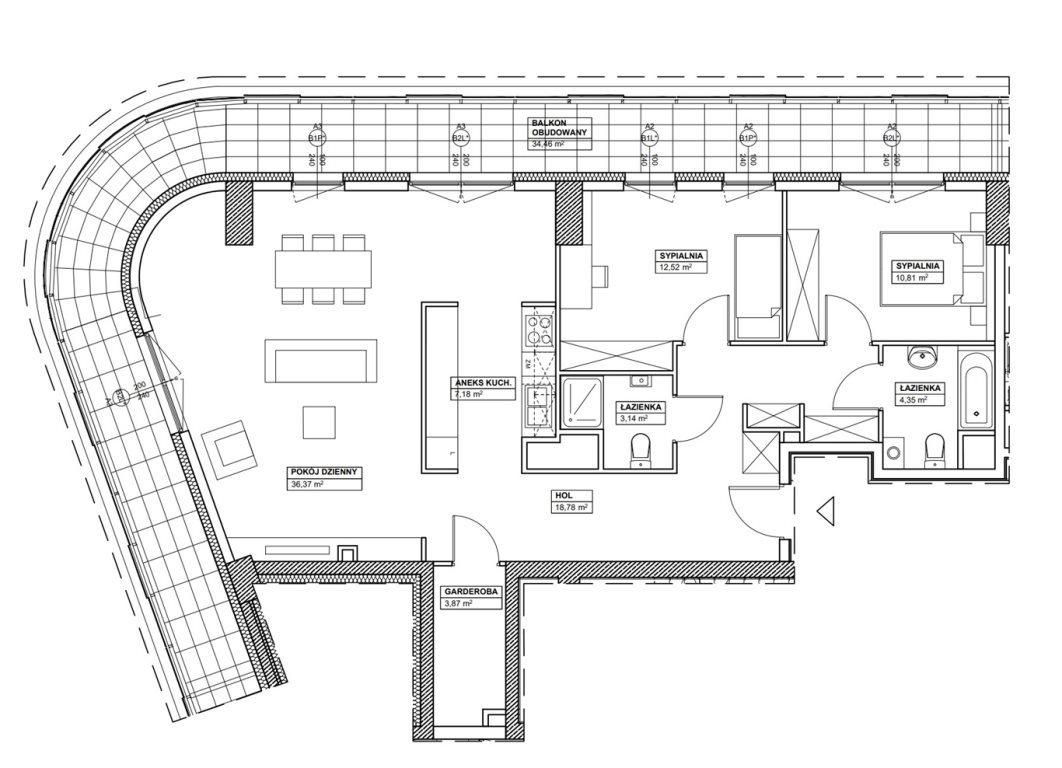 Mieszkanie czteropokojowe  na sprzedaż Warszawa, Wola  97m2 Foto 3