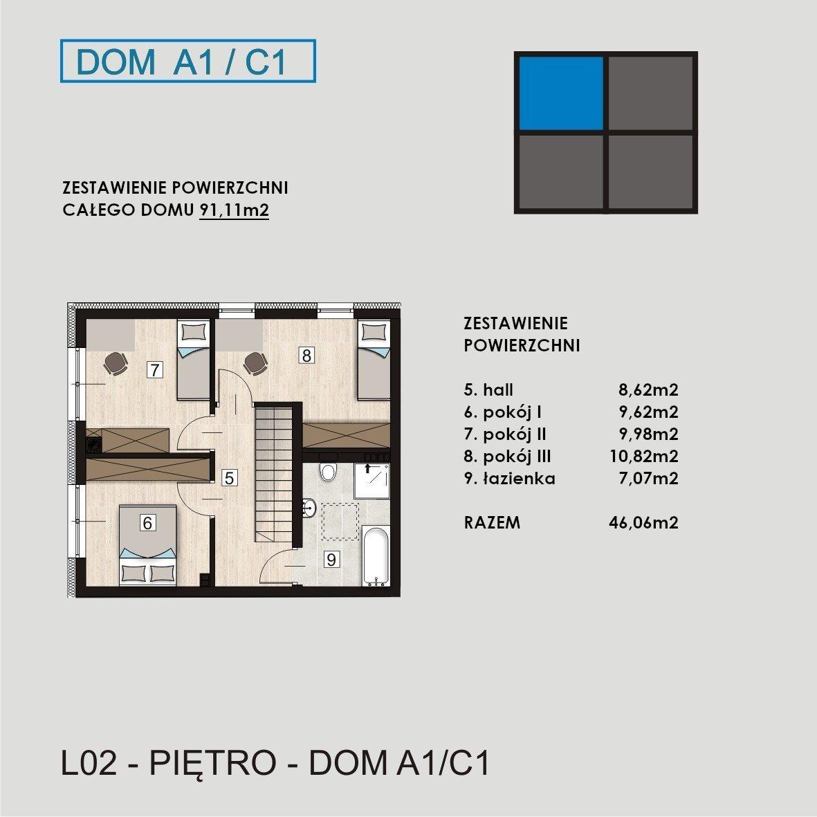 Dom na sprzedaż Gliwice, Łabędzka  91m2 Foto 5