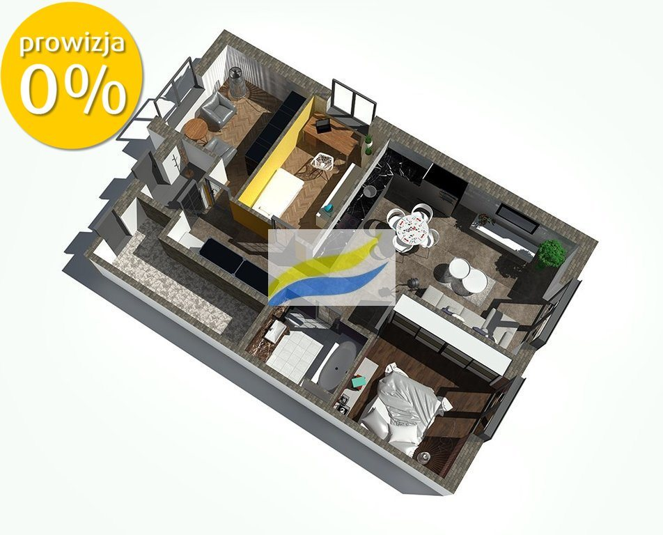 Mieszkanie trzypokojowe na sprzedaż Pyskowice, Adama Mickiewicza  73m2 Foto 7