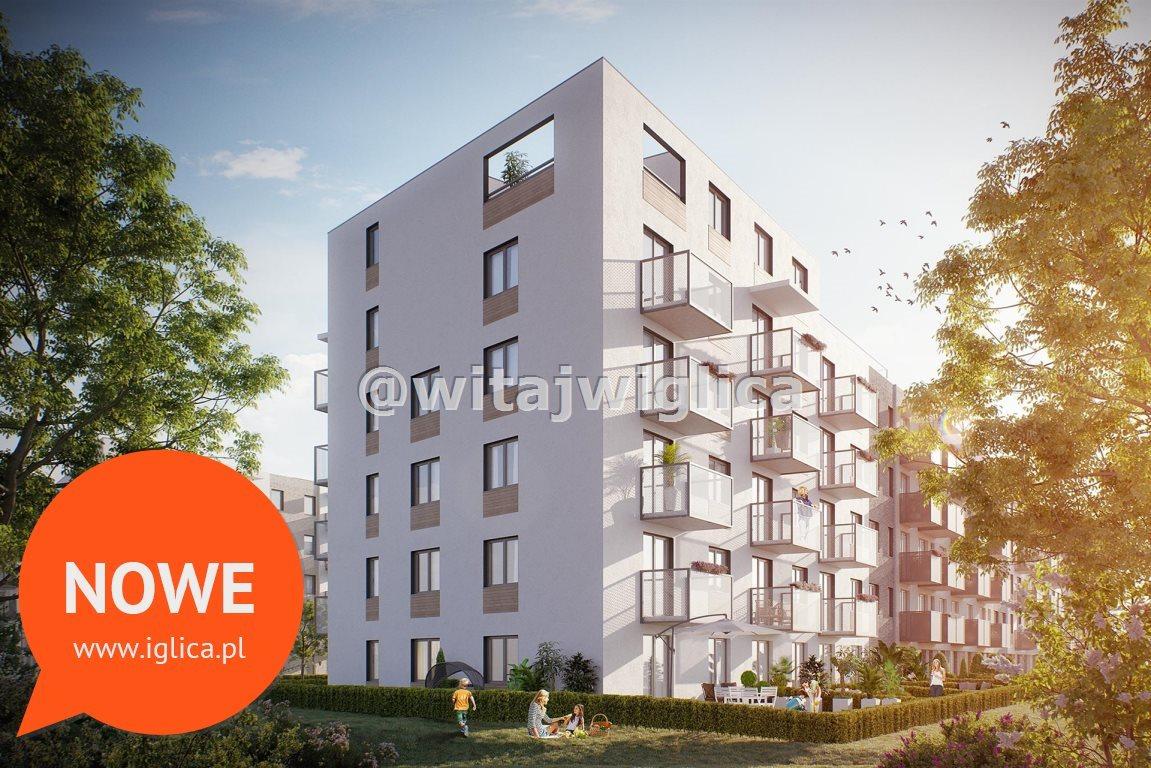Mieszkanie trzypokojowe na sprzedaż Wrocław, Krzyki, Klecina, Jutrzenki  52m2 Foto 5