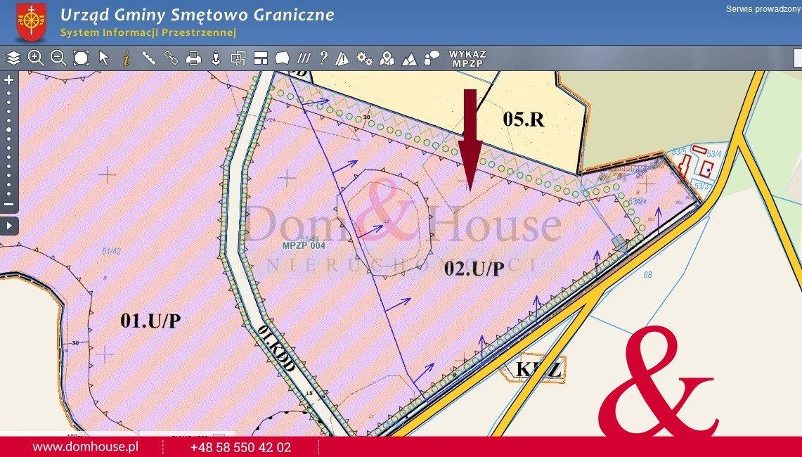 Działka przemysłowo-handlowa na sprzedaż Smętowo Graniczne  104845m2 Foto 1