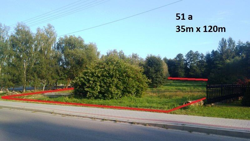Działka budowlana na sprzedaż Zgłobień  5100m2 Foto 1