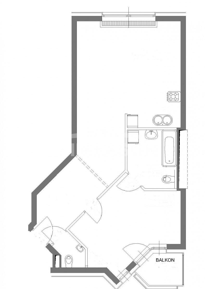 Mieszkanie dwupokojowe na sprzedaż Wrocław, Stare Miasto, Krawiecka  57m2 Foto 12